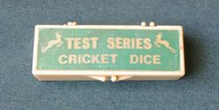 Test series cricket dice