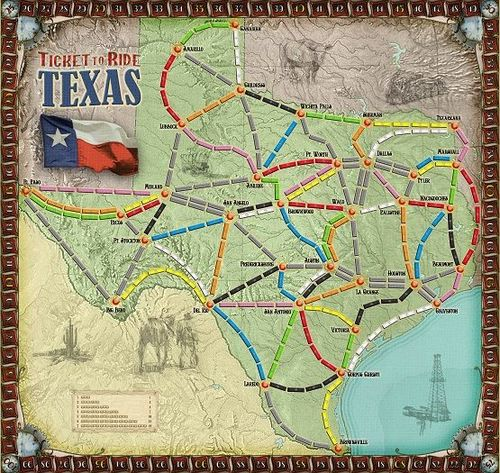 Texas (fan expansion for Ticket to Ride)