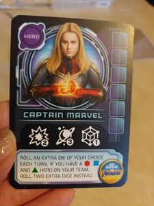 Thanos Rising: Avengers Infinity War – Captain Marvel Promo Card