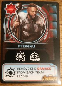 Thanos Rising: Avengers Infinity War – M'Baku Promo Card