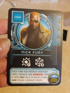 Thanos Rising: Avengers Infinity War – Nick Fury Promo Card