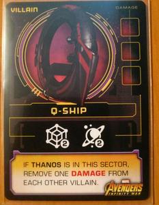 Thanos Rising: Avengers Infinity War – Q-Ship Promo Card