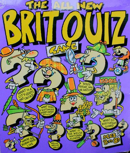 The All New Brit Quiz Game