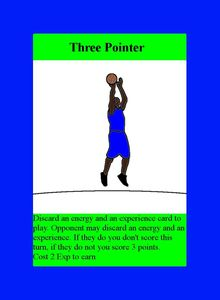 The Basketball Deck Building Game