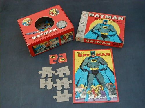 The Batman Jigsaw Puzzle Game