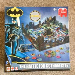The Battle for Gotham City