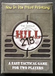The Battle for Hill 218