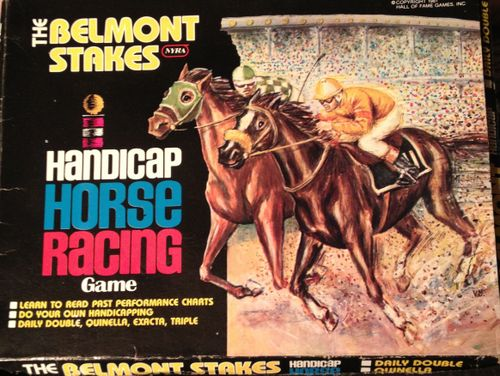 The Belmont Stakes Handicap Horse Racing Game