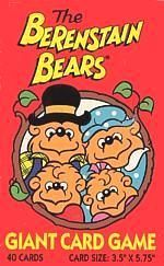The Berenstain Bears Giant Card Game