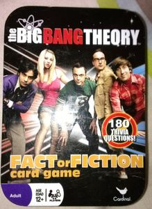 The Big Bang Theory: Fact or Fiction Card Game