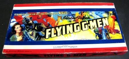 The Black Falcon of the Flying G-Men