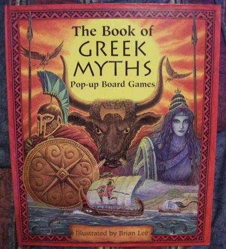 The Book of Greek Myths Pop-up Board Games