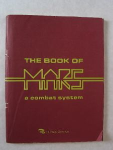 The Book of Mars: A Combat System