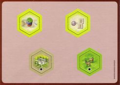 The Castles of Burgundy: 2nd Expansion – New Hex Tiles
