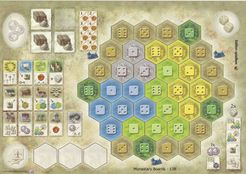 The Castles of Burgundy: 4th Expansion – Monastery Boards