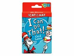 The Cat in the Hat I Can Do That! Card Game