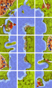 The Coast (fan expansion for Carcassonne)