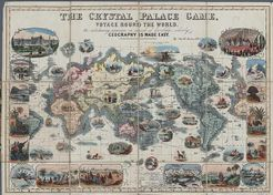 The Crystal Palace Game: A Voyage Round The World. An entertaining excursion in search of knowledge, whereby geography is made Easy