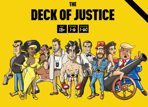 The Deck of Justice: A card game on steroids