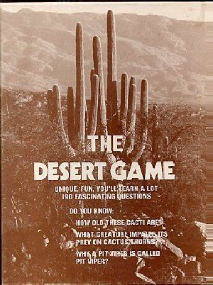 The Desert Game