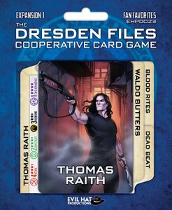 The Dresden Files Cooperative Card Game: Expansion 1 – Fan Favorites