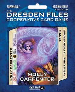 The Dresden Files Cooperative Card Game: Expansion 2 – Helping Hands