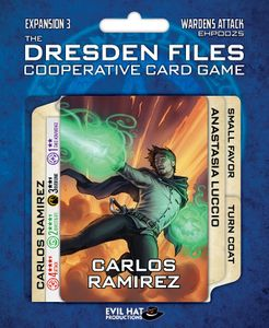 The Dresden Files Cooperative Card Game: Expansion 3 – Wardens Attack