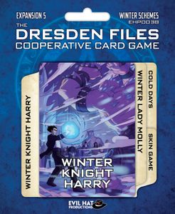 The Dresden Files Cooperative Card Game: Expansion 5 – Winter Schemes