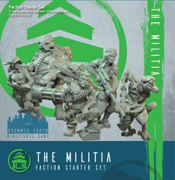 The Drowned Earth: The Militia Fraction Starter Set
