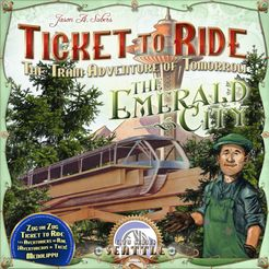 The Emerald City (fan expansion to Ticket to Ride)