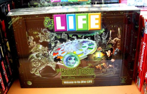 The Game of LIFE: The Haunted Mansion – The Disney Theme Park Edition