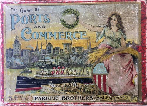 The Game of Ports and Commerce