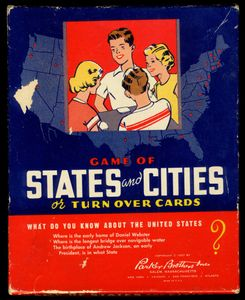 The Game of States and Cities