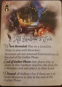 The Grimm Forest: All Hallow's Eve Promo Card