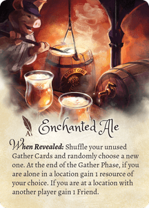 The Grimm Forest: Enchanted Ale Promo Card