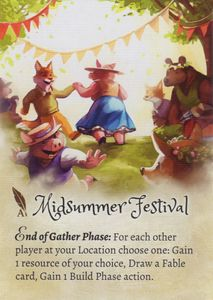 The Grimm Forest: Midsummer Festival Promo Card