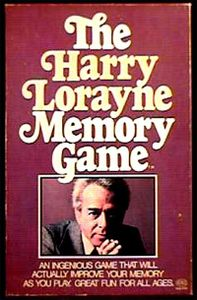The Harry Lorayne Memory Game