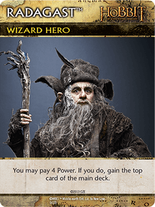 The Hobbit: An Unexpected Journey Deck-Building Game – Radagast Promo