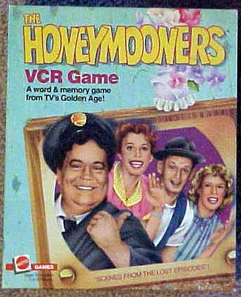 The Honeymooners VCR Game