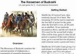 The Horsemen of Buzkashi