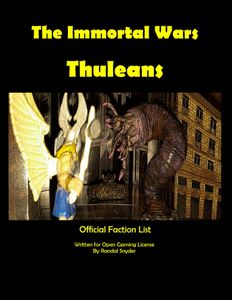 The Immortal Wars: Thuleans