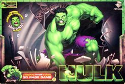 The Incredible Hulk 3-D Rampage Board Game