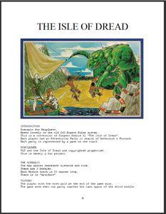 The Isle of Dread