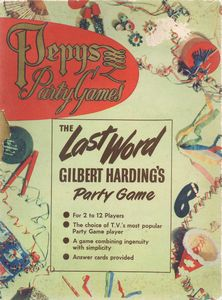 The Last Word: Gilbert Harding's Party Game