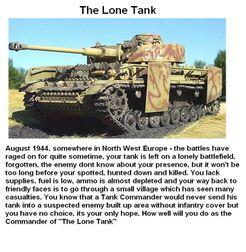 The Lone Tank