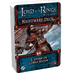 The Lord of the Rings: The Card Game – Nightmare Deck: A Storm on Cobas Haven