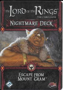 The Lord of the Rings: The Card Game – Nightmare Deck: Escape From Mount Gram