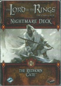 The Lord of the Rings: The Card Game – Nightmare Deck: The Redhorn Gate