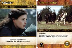 The Lord of the Rings: The Fellowship of the Ring Deck-Building Game – Arwen Promos