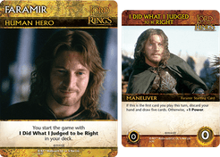 The Lord of the Rings: The Return of the King Deck-Building Game – Faramir Promos